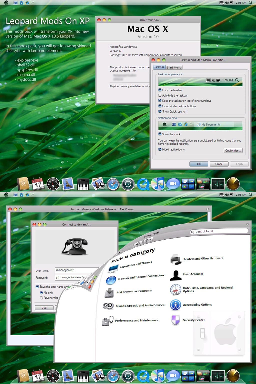 Leopard Mods On XP by kampongboy92