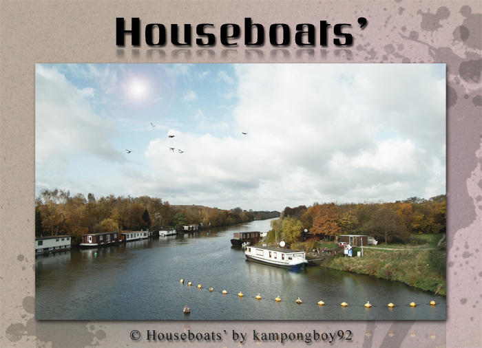 Houseboats' by kampongboy92
