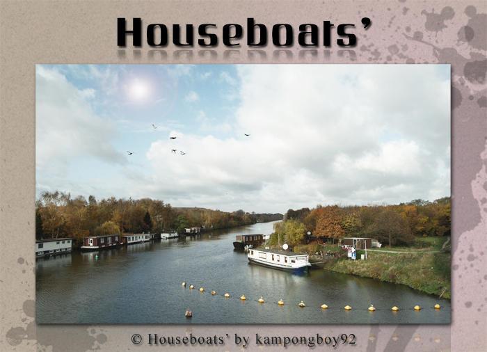 Houseboats' by kampongboy92
