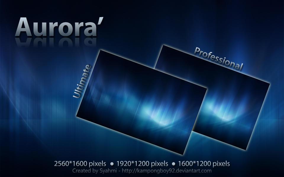 Aurora' by kampongboy92