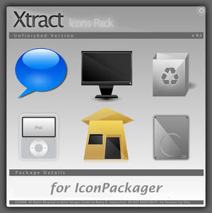 Xtract IconPackager