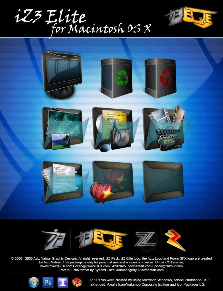 iZ3 Elite for Mac OS X by kampongboy92