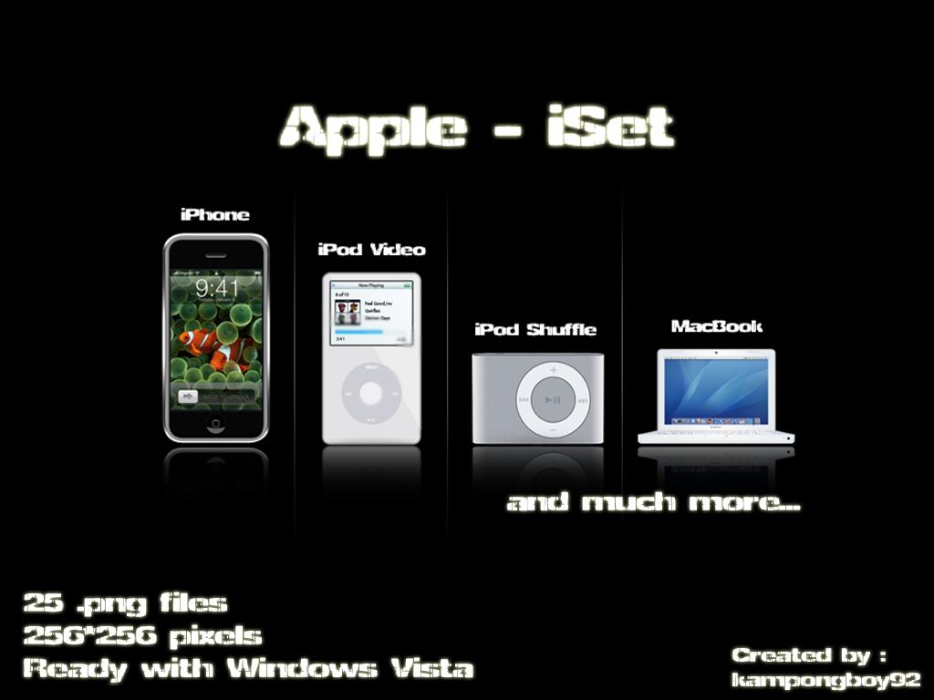 Apple - iSet by kampongboy92