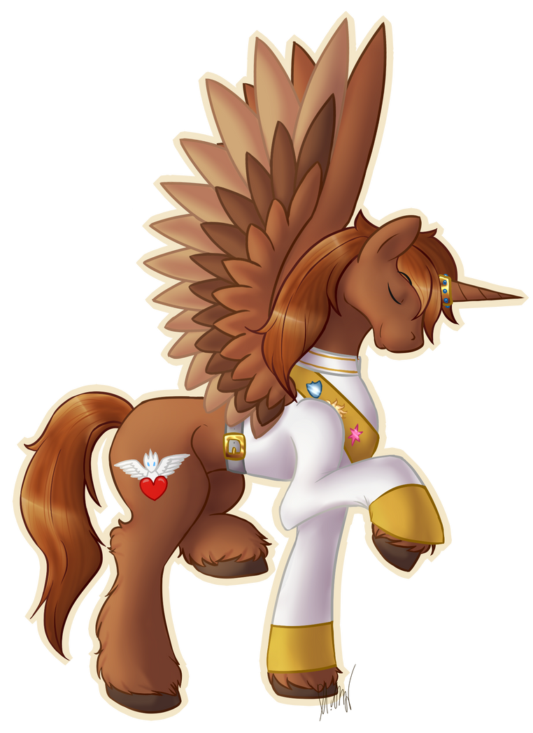 My Little Pony Character Profile Courageous Heart By