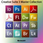 Creative Suite 3 icons