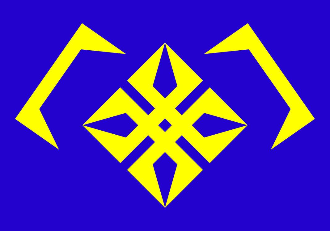 Hara City / Haratropolis Flag by imadmagician