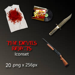 The Devils Rejects Iconset by Screasel