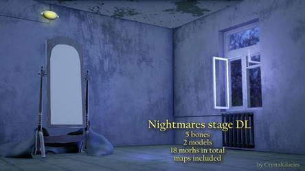 MMD Nightmares stage DL