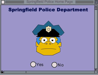 Clancy Wiggum Interactive Flash! by here5year