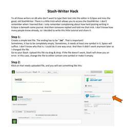Stash-Writer Hack