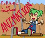 Zinnia Swinging Animation