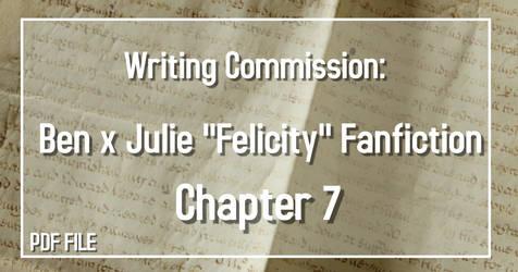 Writing Commission: Ben x Julie CH 7