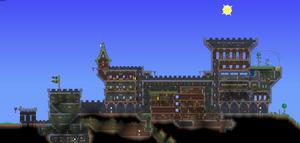 Renovated Terraria castle