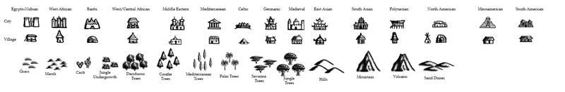 RPG Map Brushes favourites by Kingofturves on DeviantArt