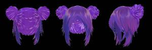 [MMD] Tda Hair Edit #1 +DL