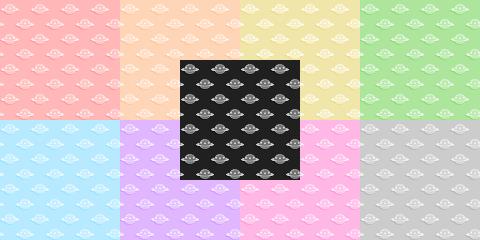 Tiled UFOs BG by KatieKx