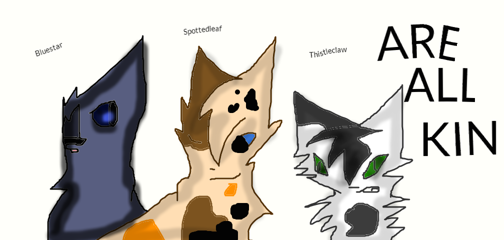 warrior cats coloring pages spottedleaf - photo#27