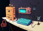 Computing station
