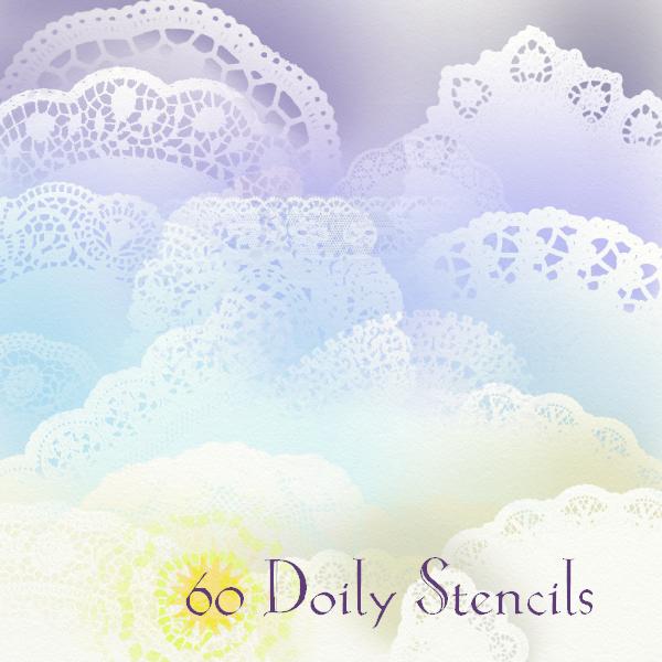 60 Doily Stencils by art-ana-nas