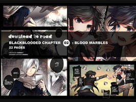 BlackBlooded02: Blood Marbles by kawacy