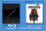 Bluray Case Template PSD