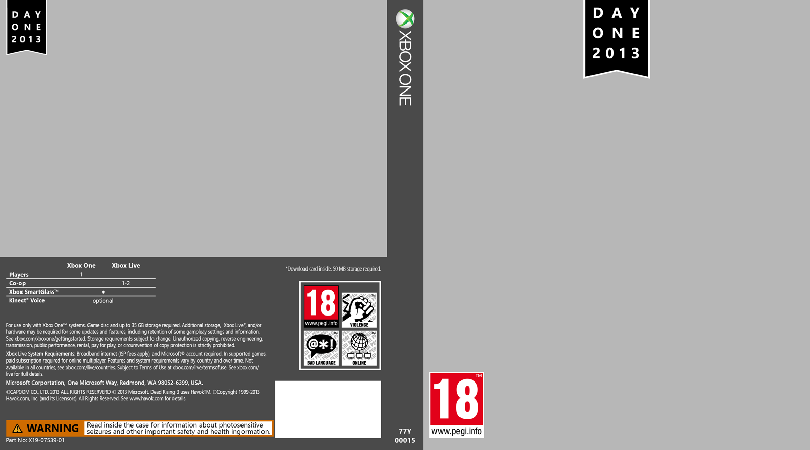 xbox one game cover template by saikuro on deviantart
