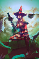 The Red Witch I-no by Christian-Angel