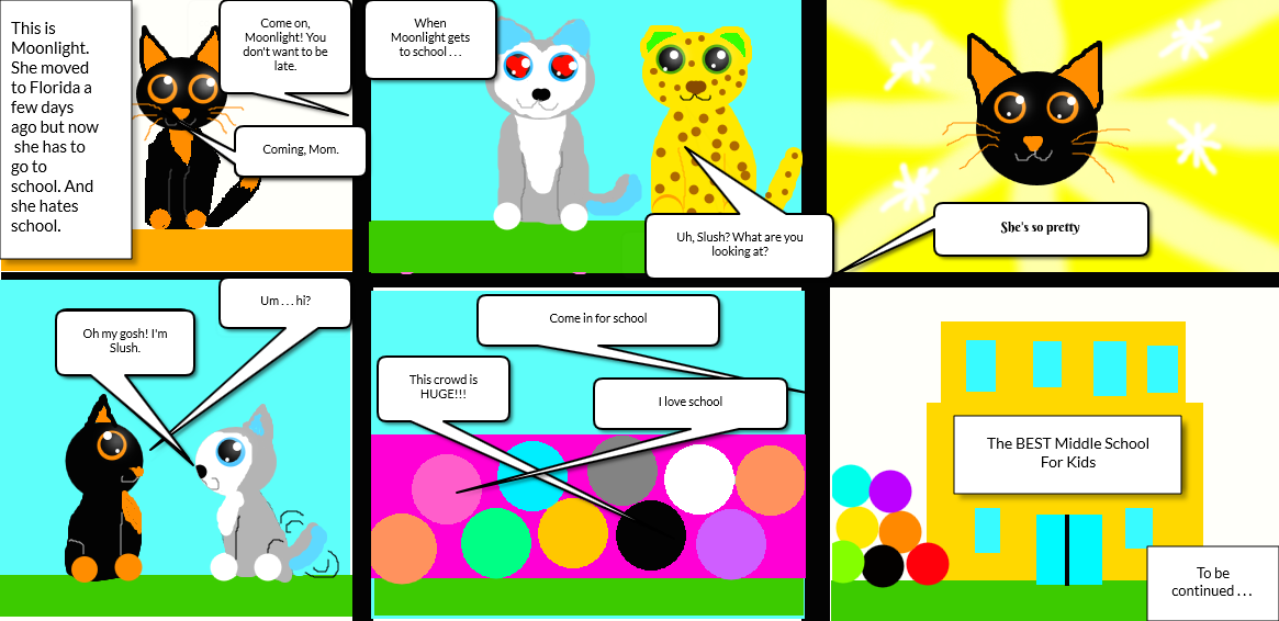 The Adventures of Moonlight the Beanie Boo  Page 1 by R ... 1165 x 566 png  201kB Free  ... 225ba06b7763