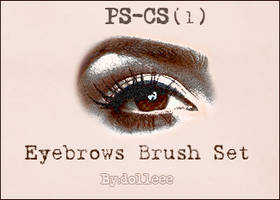 Eyebrows Brush Set 1 by dolleee