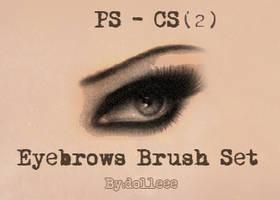 Eyebrows Brush Set 2 by dolleee