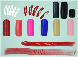 Nails Brush by dolleee