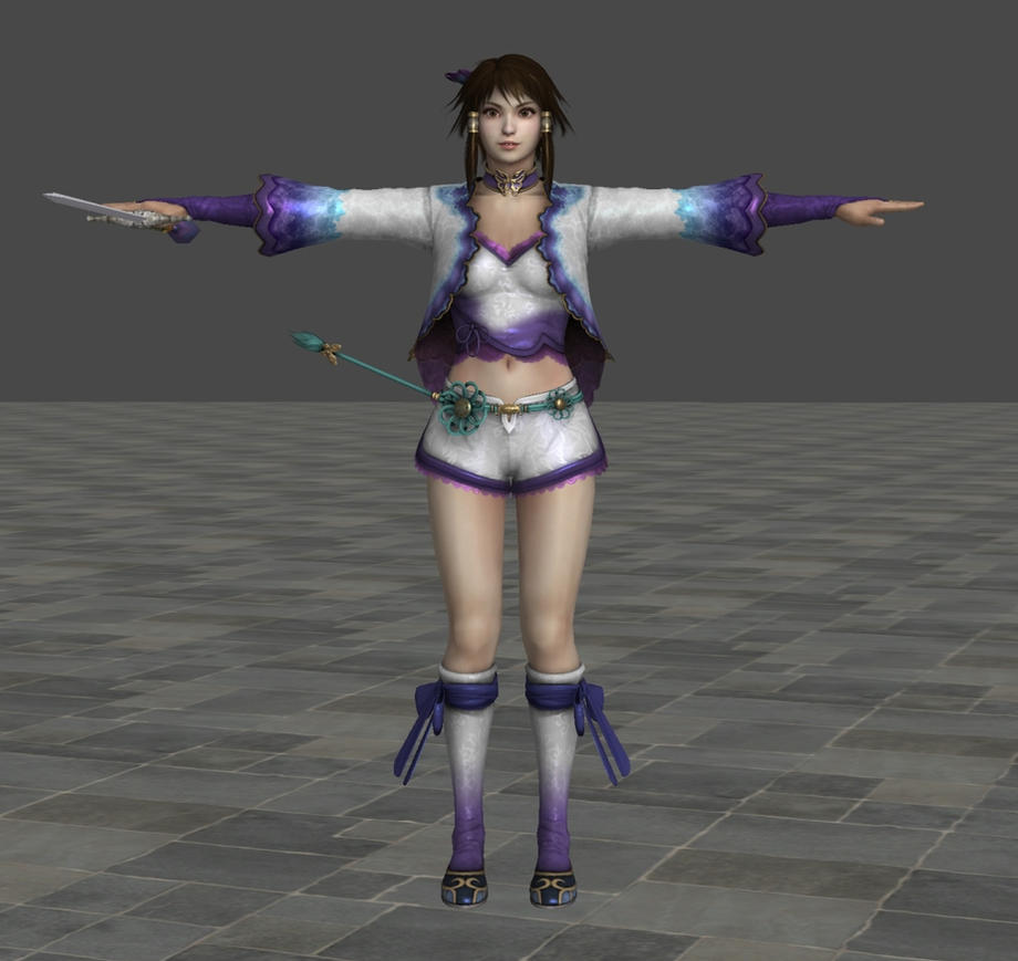 Soulcalibur IV - Chai Xianghua by Sterrennacht