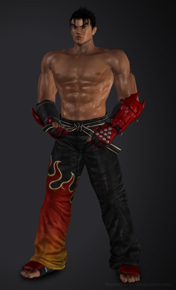 Tekken 6 Jin Kazama By Sterrennacht On Deviantart