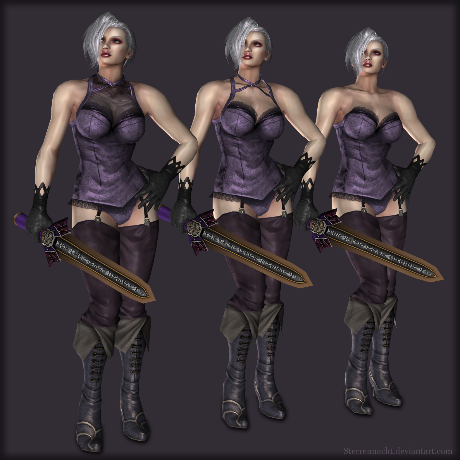 Soulcalibur IV - Ivy Valentine (bonus pack) by Sterrennacht