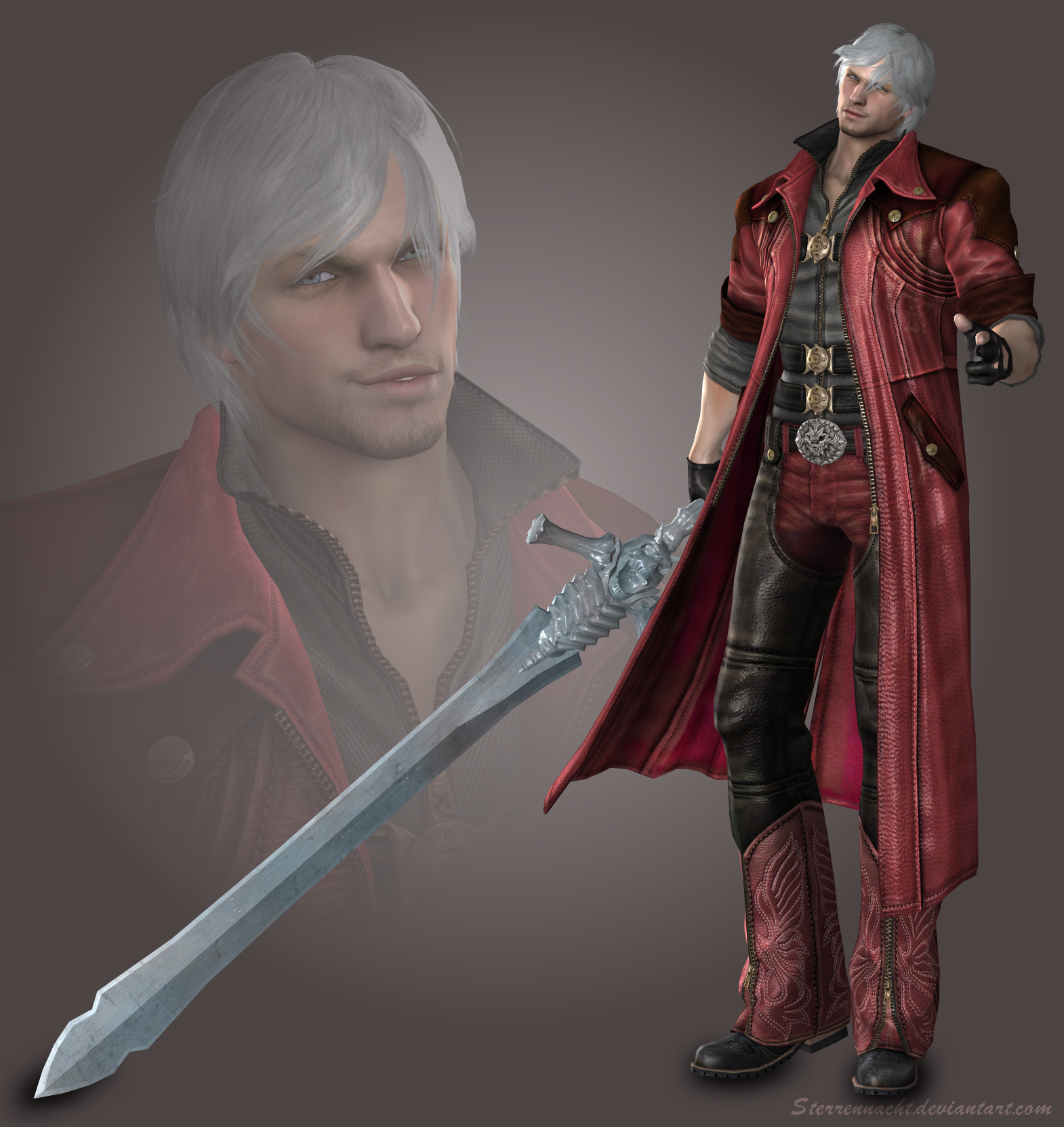 Dante (Devil May Cry 4) by Sterrennacht