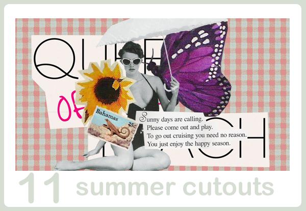 summer cutouts by snappedbeat