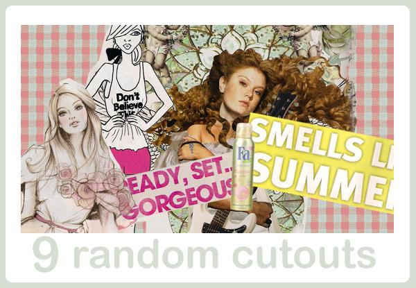 random cutouts by snappedbeat