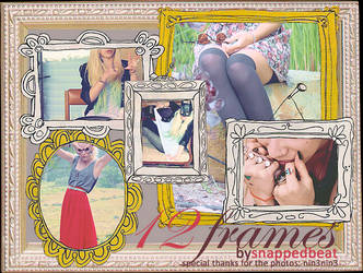 cartoonish frame PNGs