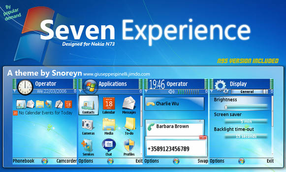 Windows Seven Experience
