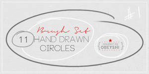 11 Hand Drawn Circle Brushes