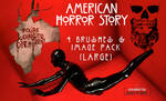 American Horror Story Brushes + Image Pack