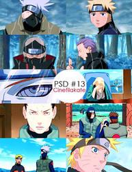 Naruto Shippuden PSD Coloring by hermyweasley