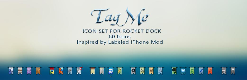 :: Tag Me Icon Set :: by Sympli-Me