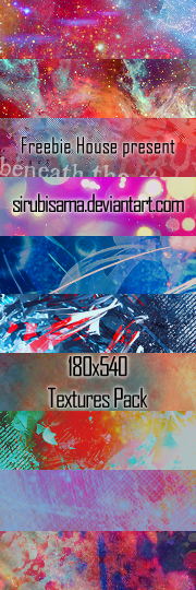180x540 Textures Pack by sirubisama
