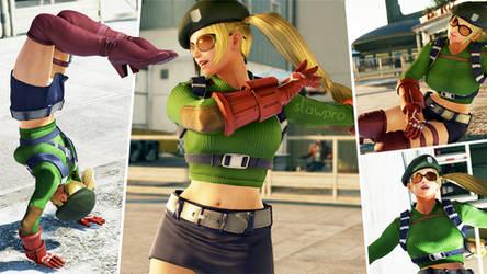 Lucky Chloe's Katarina Ranger Cosplay by SlawPro