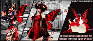 [TK7] ALL Characters Bloodright Red Butterfly