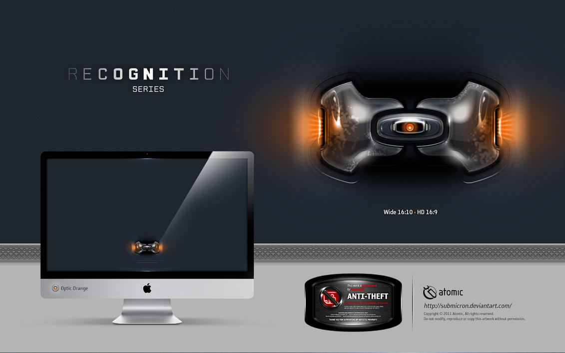 Recognition Optic Orange by submicron