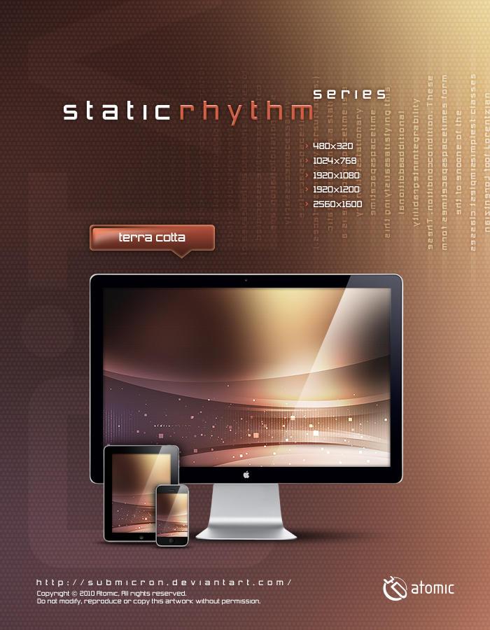 Static Rhythm Terra Cotta by submicron