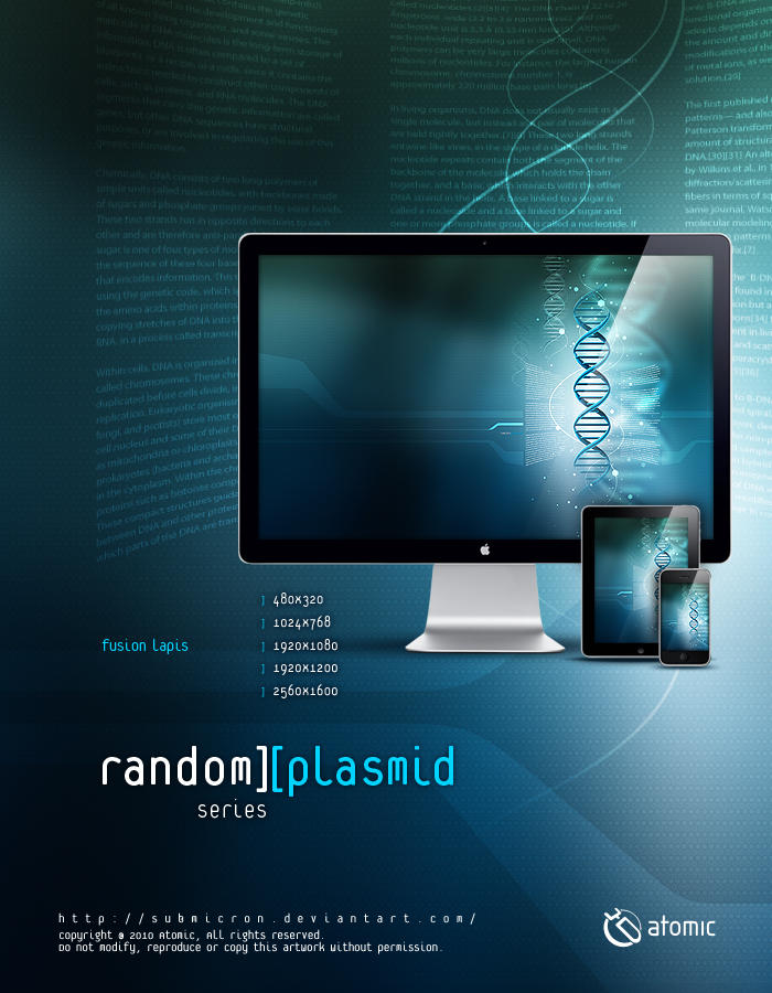 Random Plasmid Fusion Lapis by submicron