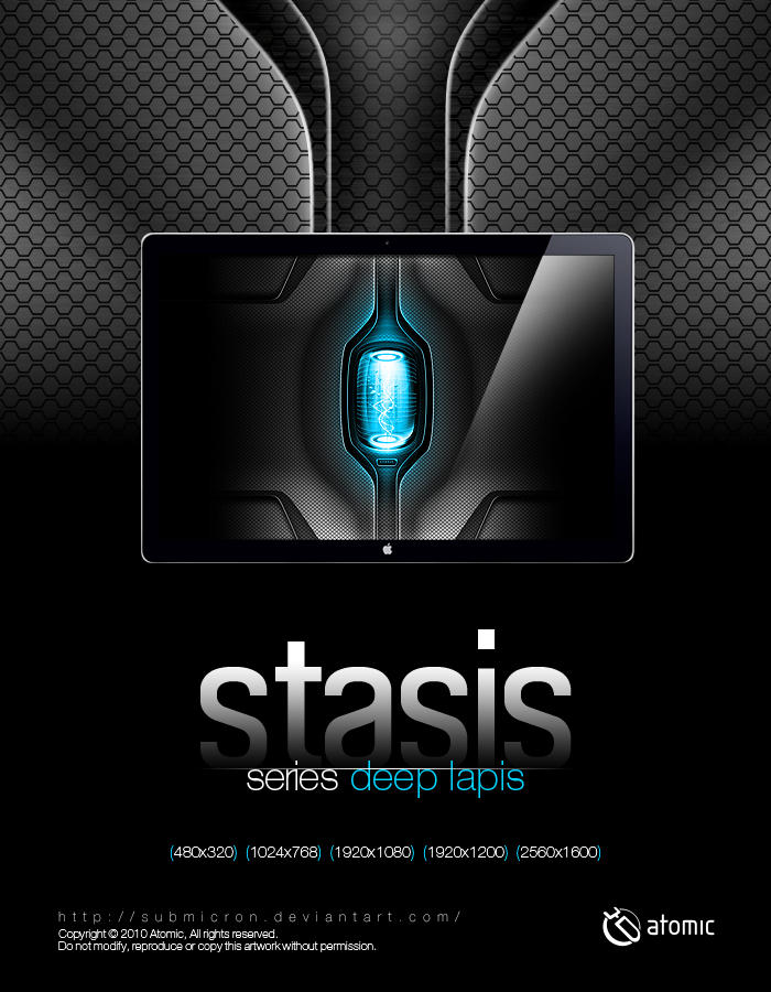 Stasis Deep Lapis by submicron